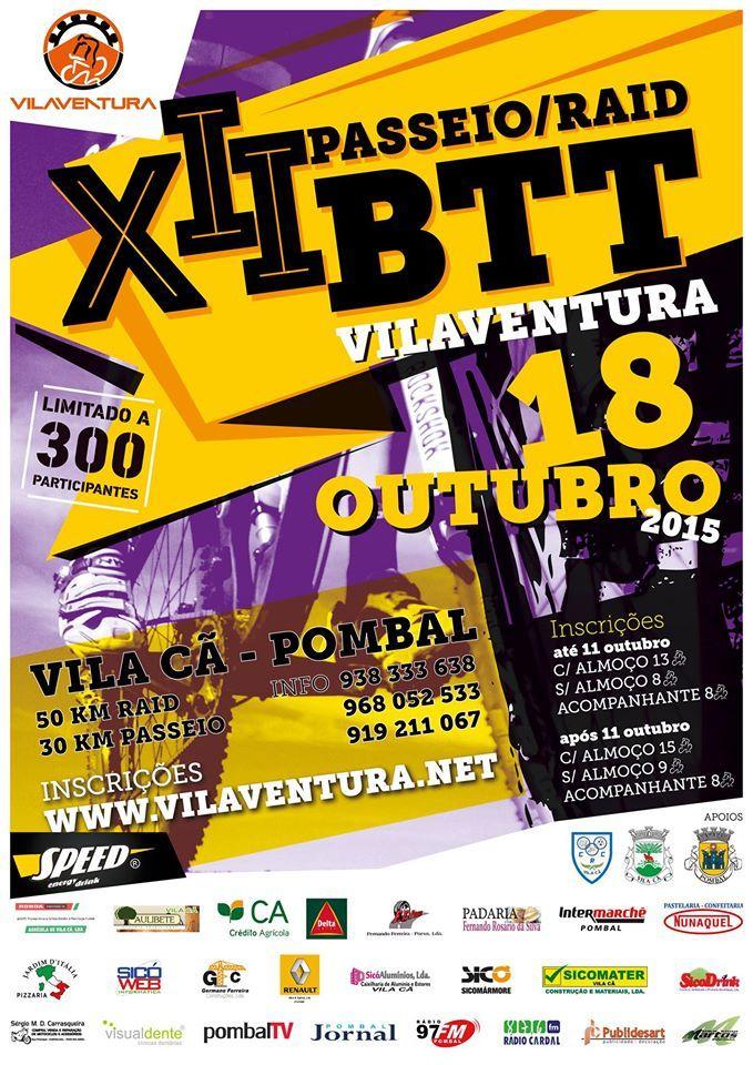 XII Passeio Raid BTT Vilaventura