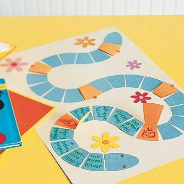 Summer Reading Game Board