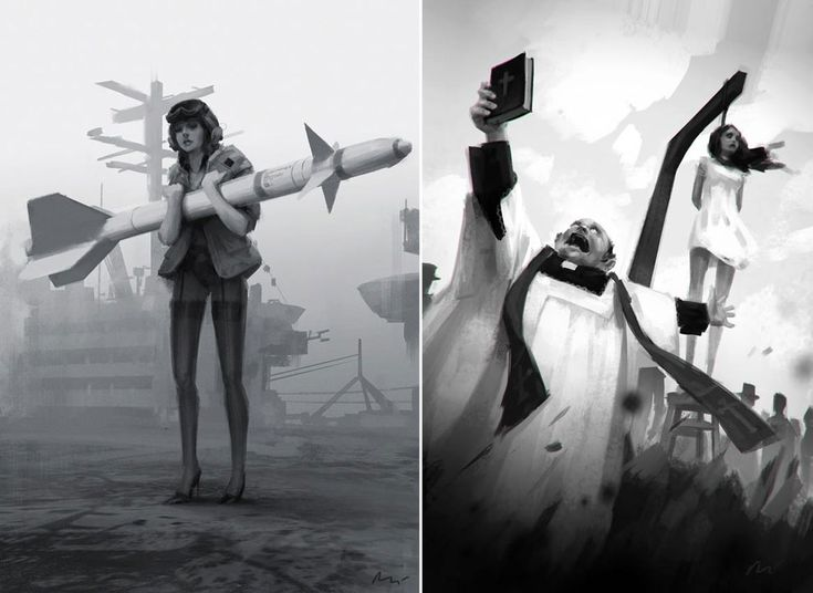 Gorgeous and distinct illustration and digital paintings by the Polish artist Michal Lisowski based in Warsaw. Michal paints in both traditional and digital ways working already for clients like Ubisoft, Disney or NVIDIA. We are very glad to can present you some of his works and please have a lo