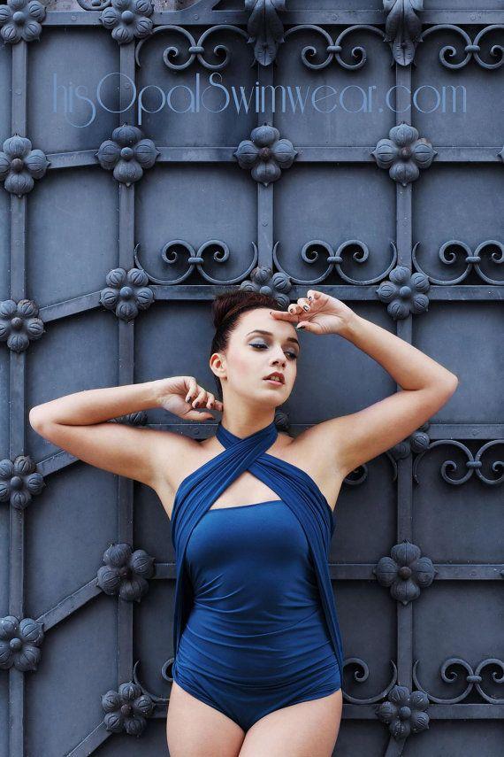 Großen Badeanzug Teal Wrap-Around Badeanzug Frauen und Teens Cabrio Bademode Mutterschaft Kleidung Bañador Badeanzug