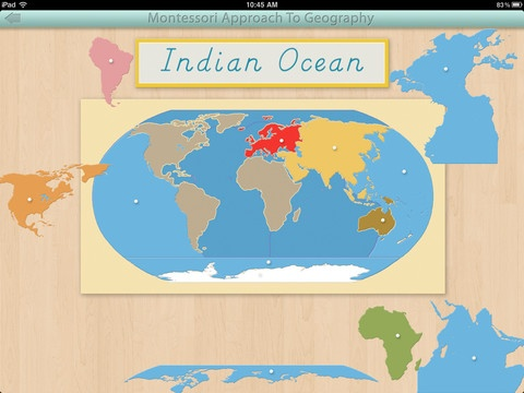 39 best geography apps images on pinterest montessori geography world continents and oceans for the ipad by mobile montessori gumiabroncs Images