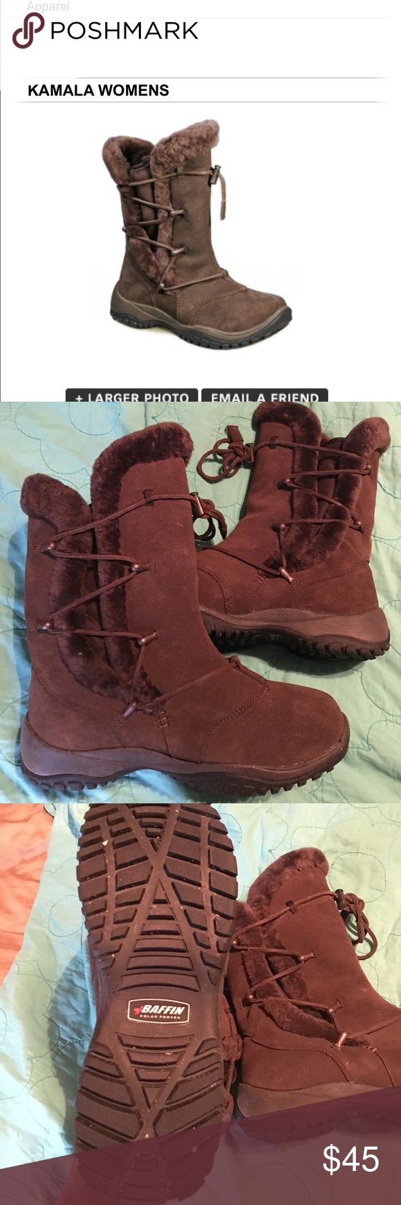 Baffin Kampala boots Like new worn once around the house. Baffin Shoes Winter & Rain Boots