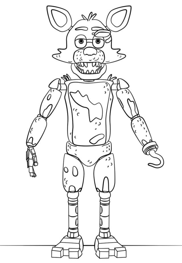 21 Inspired Picture Of Five Nights At Freddy S Coloring Pages Entitlementtrap Com Fnaf Coloring Pages Animal Coloring Pages Coloring Books