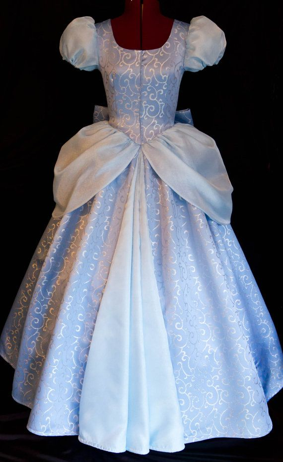 Cinderella GOWN Costume DELUXE Adult Version LIMITED by mom2rtk