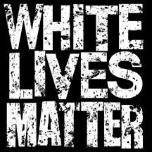 (20) White Lives Matter stickers