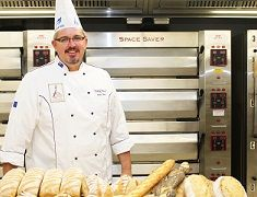 Nation's best facilities attract top baker to Hunter TAFE
