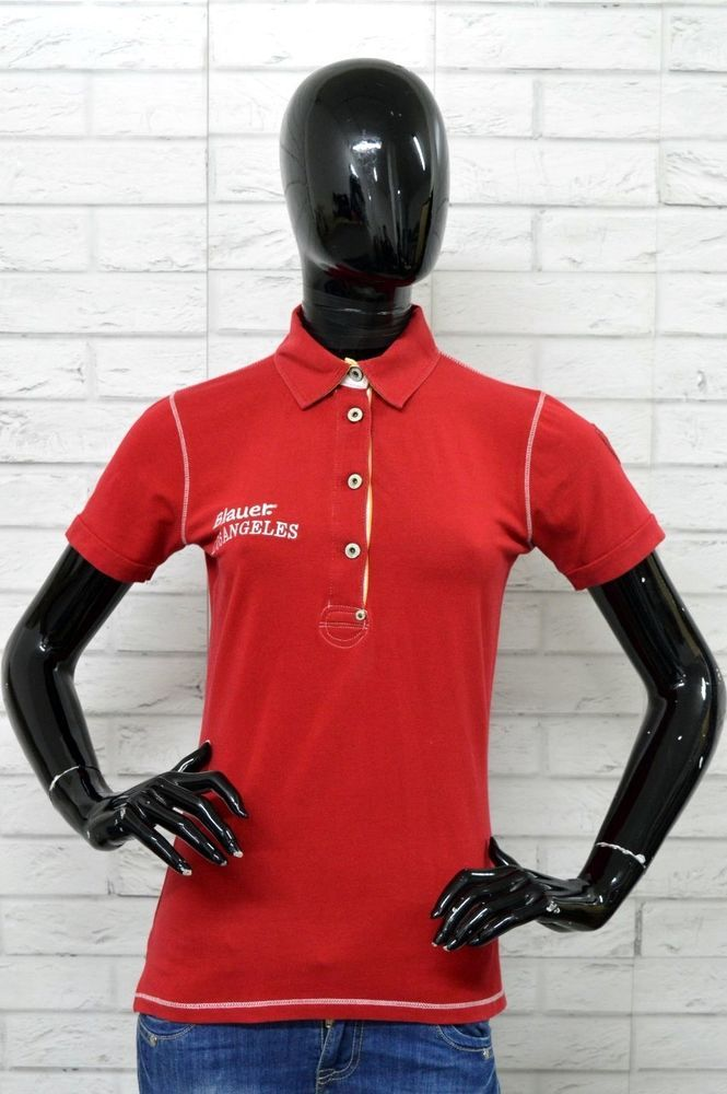 huge selection of 7fd26 e170b Polo BLAUER USA Donna Woman Taglia Size S Maglietta Shirt ...