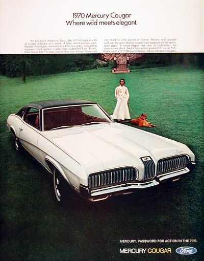 14 best images about mercury cougar power on pinterest for Mobilia 1970