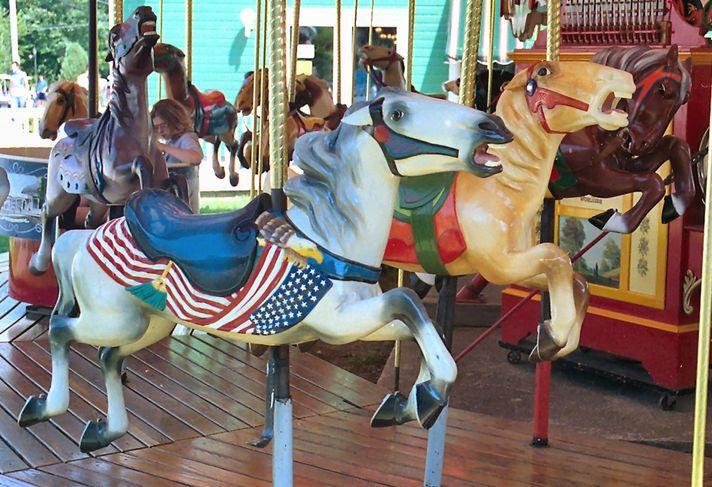 187 Best Carousel Flag Horses Images On Pinterest