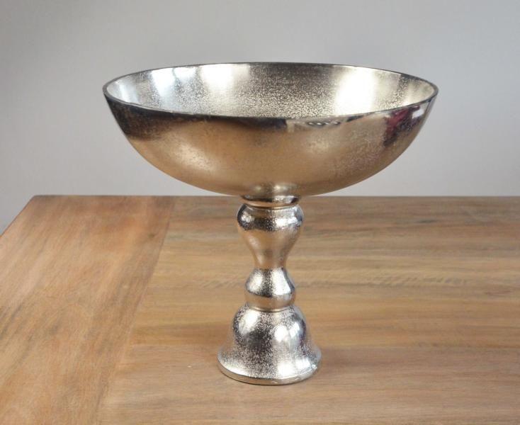 Schale von Colmore - Tischschale - Silber - Luxus - Etagere - Esstisch - Wohnen - Einrichtung - Living - Dekoration - Deko www.michaelnoll.de