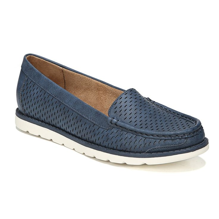 NaturalSoul by naturalizer Isla Women's Boat Shoes, Blue
