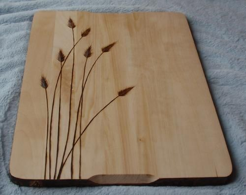 Pyrography On A Cutting Board Very Nicely Done