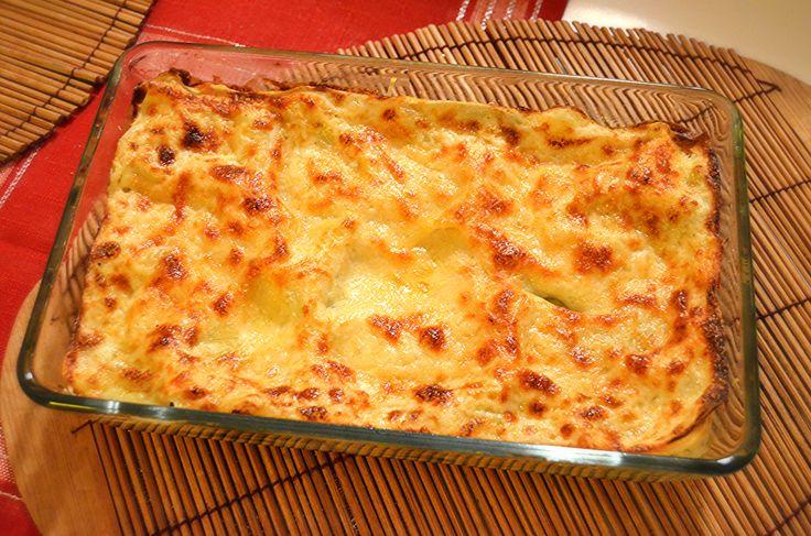 Lasagne s listovým špenátem