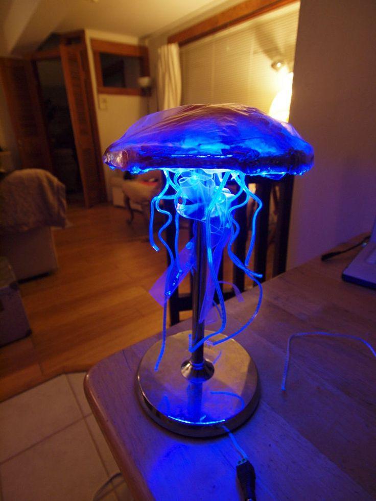 DIY Jellyfish Lamp