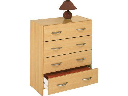 Kommode Schubladenkommode Schubladen Sideboard Anrichte Mehrzweckkommode Henry (Buche)