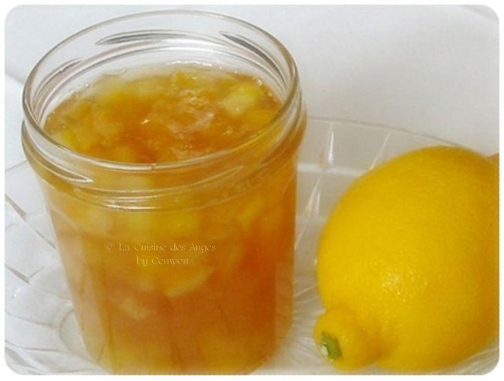 La Cuisine des Anges, le blog de recettes créatives pour petits budgets : Pot de Gelée de Citrons
