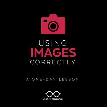 Students use images all the time, but do they use them legally? Ethically? Correctly? Too often, the answer to all of those questions is no. This lesson teaches students how to correctly use images in their printed and digital products: images that they place on written pieces, presentations, videos, posters, e-books, and other