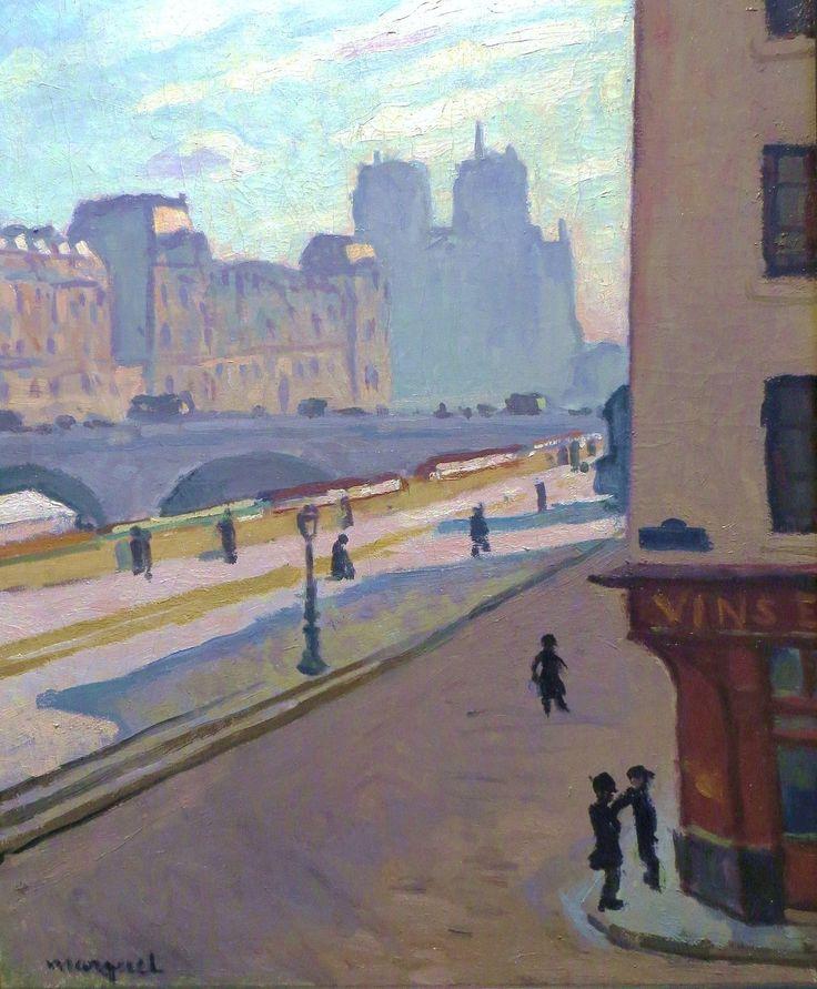 urgetocreate:  Albert Marquet, Notre Dame in the Sun, 1904