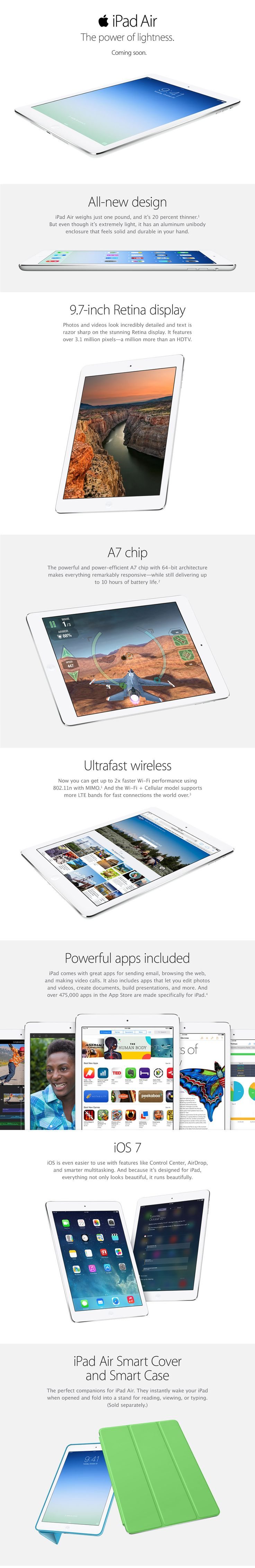 iPad Air- All I want for Christmas..... :D One can dream!