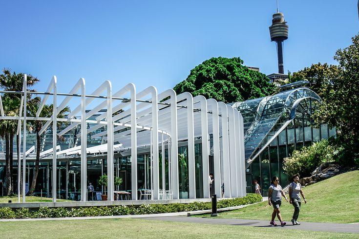 The Calyx was a nice surprise venue in The Royal Botanic Garden, one of the most beautiful places in Sydney. Even if the food was atrocious people would still love visiting. Check out our full review of the hidden, Asian inspired cafe/restaurant. http://spooningaustralia.com/the-calyx/