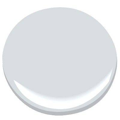 benjamin moore - gray cloud (bathroom)