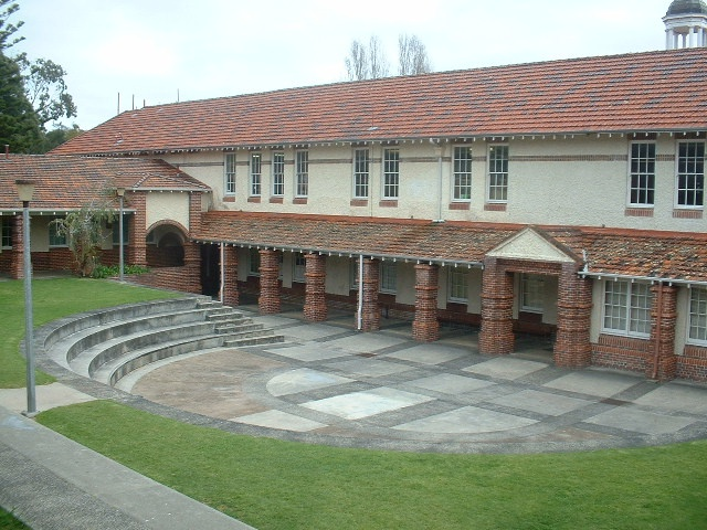 The auditorium of ASHS