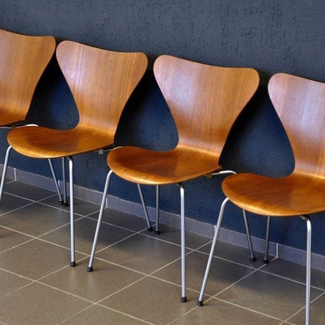new in 3107 chair in teak designed by arne jacobsen for fritz hansen achtgrad designklassiker Krefeld