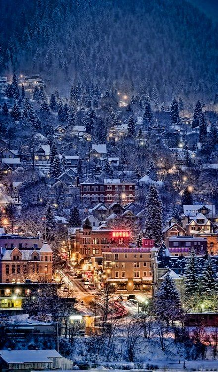 My favorite place to visit as a kid. Need to drive through on our way to Banff. Nelson, British Columbia, Canada