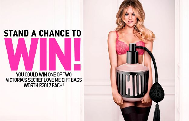 Win 1 of 2 Victoria's Secret Love Me Gift Bags worth R3017 each | Ends 10 May 2015