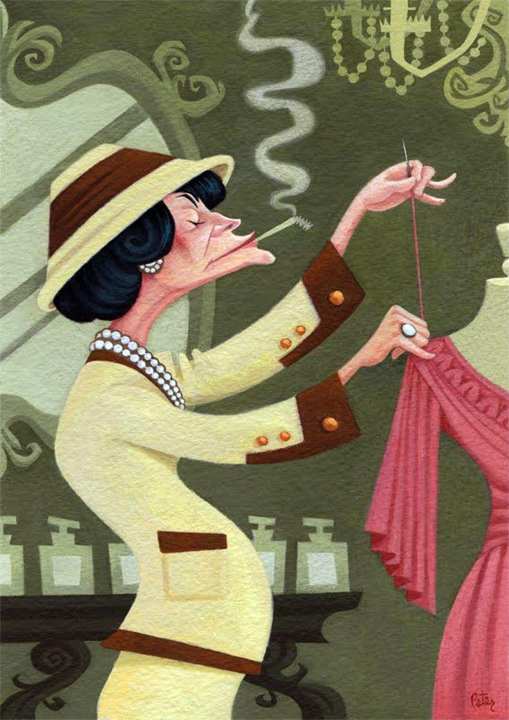 Inspiração. A Revolução de Gabrielle Coco Chanel.