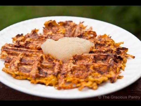 Sweet potato waffles, Potato waffles and Clean eating sweets on ...