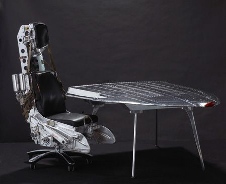 Lockheed F-104 Starfighter Ejection Seat, with swivelling wheels