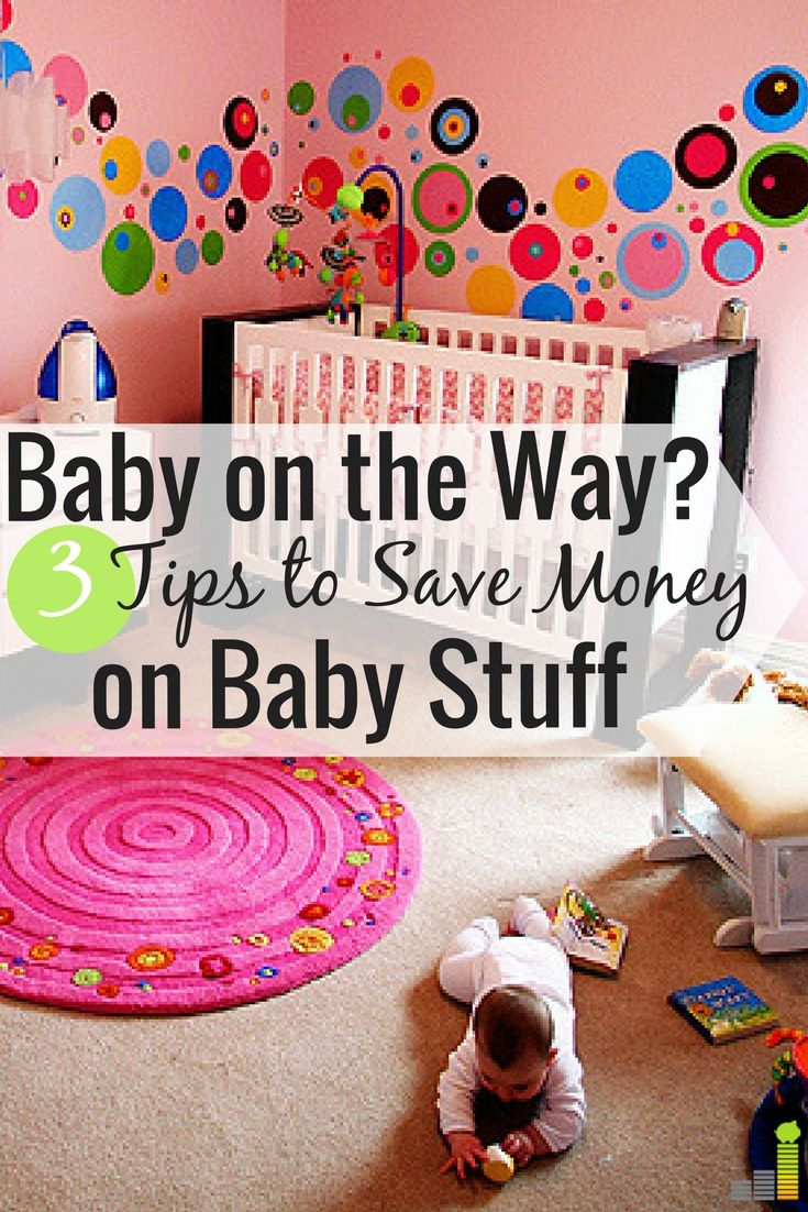Saving money on baby stuff is something I have a lot of tips to share about. Since I had to buy things for two babies, I had to be smart about what I got.