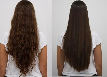 Before and after results by Zelo Brazilian Keratin Hair ...