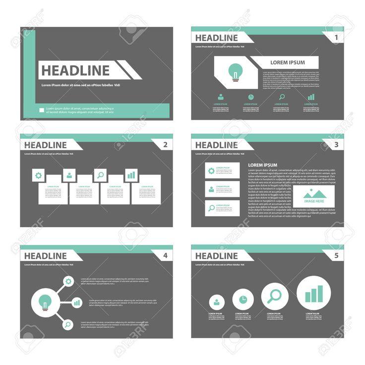 Zwart En Groen Infographic Element Voor De Presentatie Brochure Flyer Leaflet Plat Ontwerp Royalty Vrije Cliparts, Vectoren, En Stock Illustratie. Image 44163262.