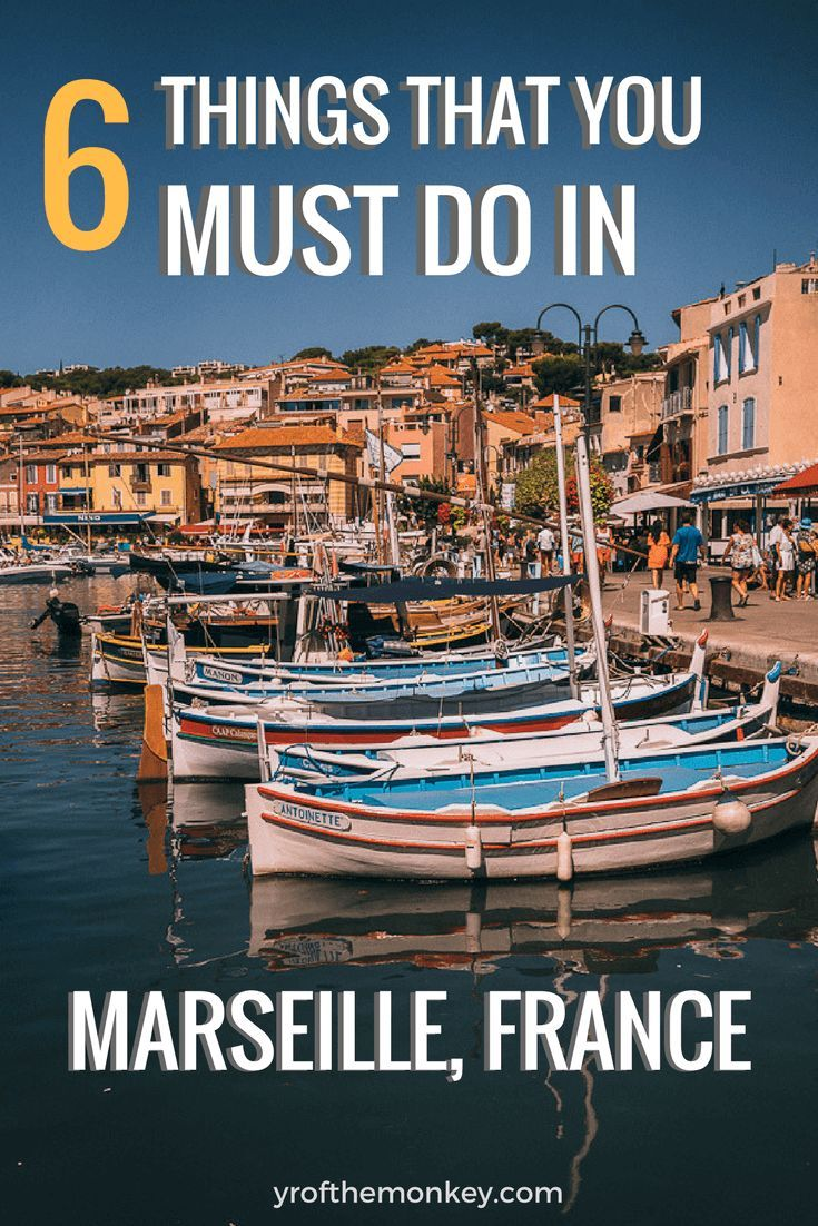What to see in Marseille, France? If you've been asking this question, look no further than this amazing travel guide which provides the best of Marseille attractions and food options. This three day travel itinerary of Marseille showcases Chateau D'IF, beaches, monuments, murals and other must do things while in France's port city! Travel in Europe.