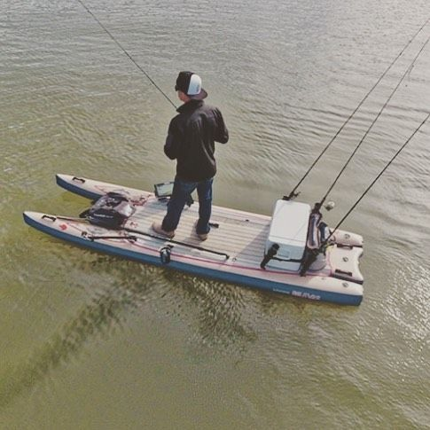 25 best ideas about mini pontoon boats on pinterest for Best fishing pontoon boat