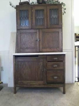 Reproduction hoosier cabinets for sale 400 hoosier for Reproduction kitchen cabinets