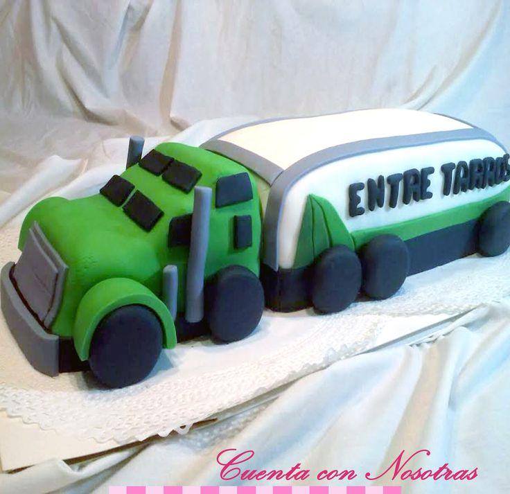 Torta Camión Truck Cake