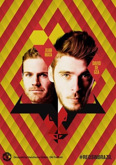 David De Gea and Juan Mata will be hoping to help Spain reign supreme again as the World Cup holders aim to defend their title this summer. #RedsInBrazil ♥