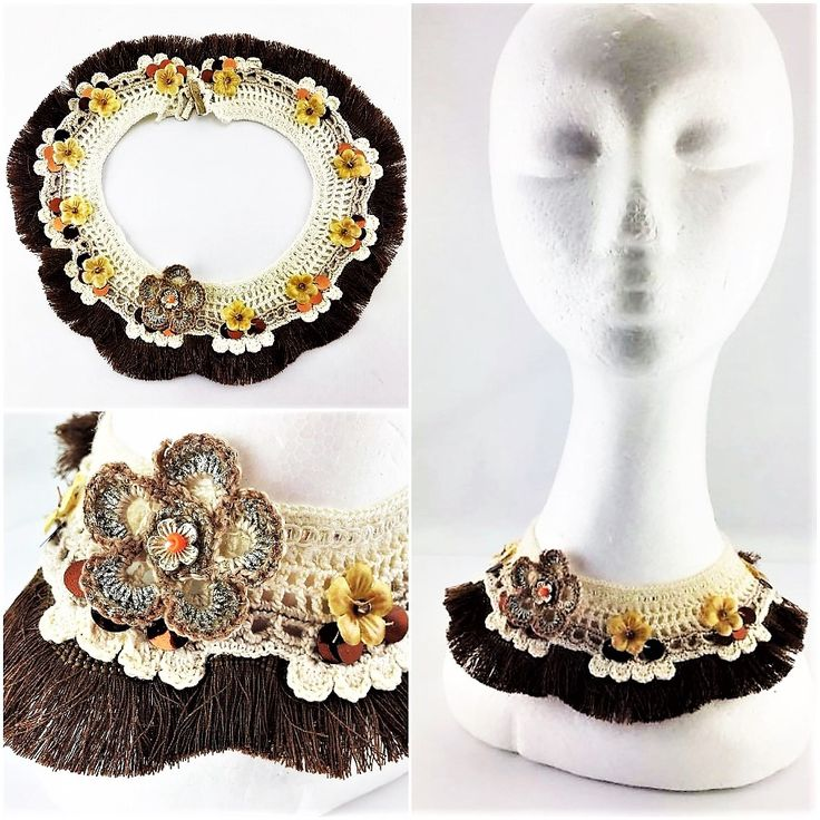 CAVALRY NECK-PIECE' Australian Handmade Craft Collar Neck-Piece