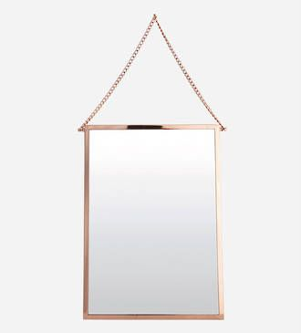 House Doctor Copper mirror