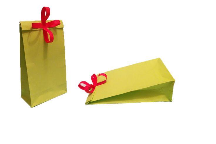 Kağıttan hediye kutusu yapımı - Doğum günü hediye paketi