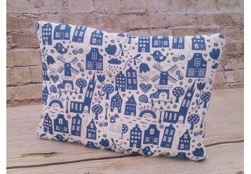 Pillow ORGANIC COTTON Magic Delft