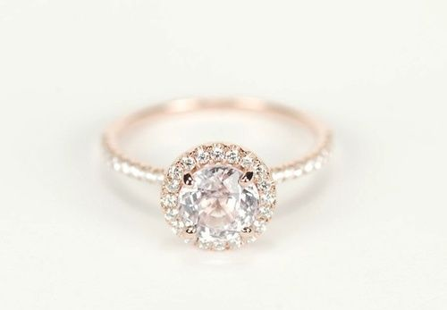Love the rose gold and the skinny band!