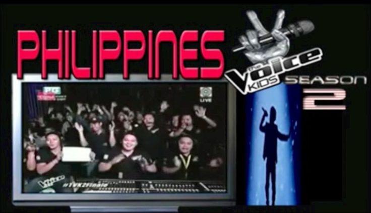 The Voice Kids Season2 2015 Philippines!