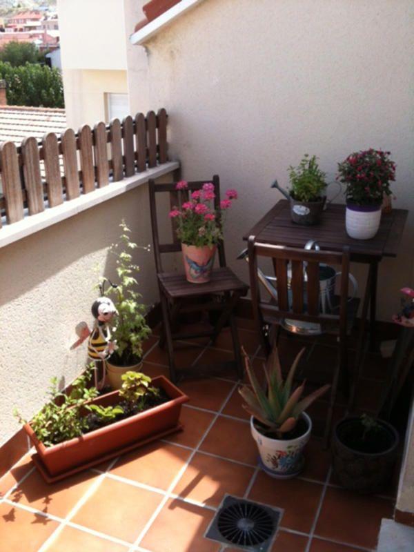 301 mejores im genes sobre jardin y terrazas en pinterest - Patios pequenos decorados ...