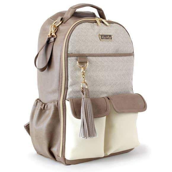 Boss Diaper Bag Backpack Vanilla Latte Cute Diaper Bags Best Backpack Diaper Bag Baby Backpack Diaper Bag