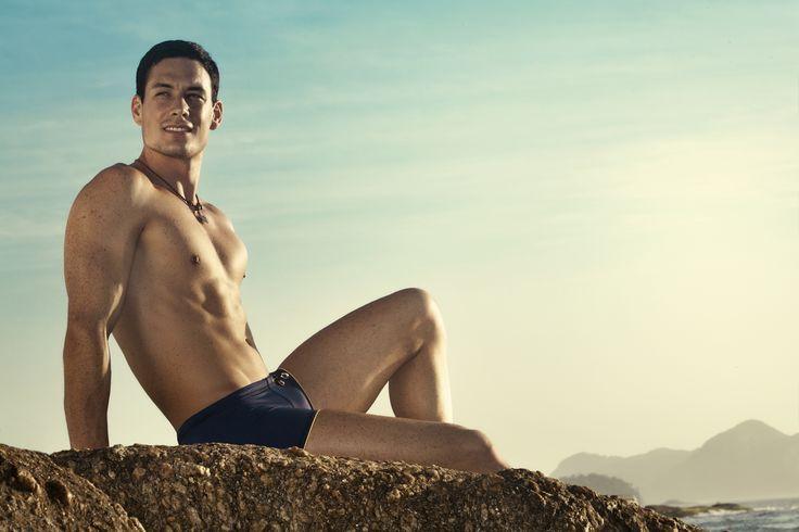 Tyto pánské plavky značky Clever Moda jsou přesně jako pláž v Rio de Janeiro, podle které dostaly své jméno – Ipanema. Stylové a sexy.