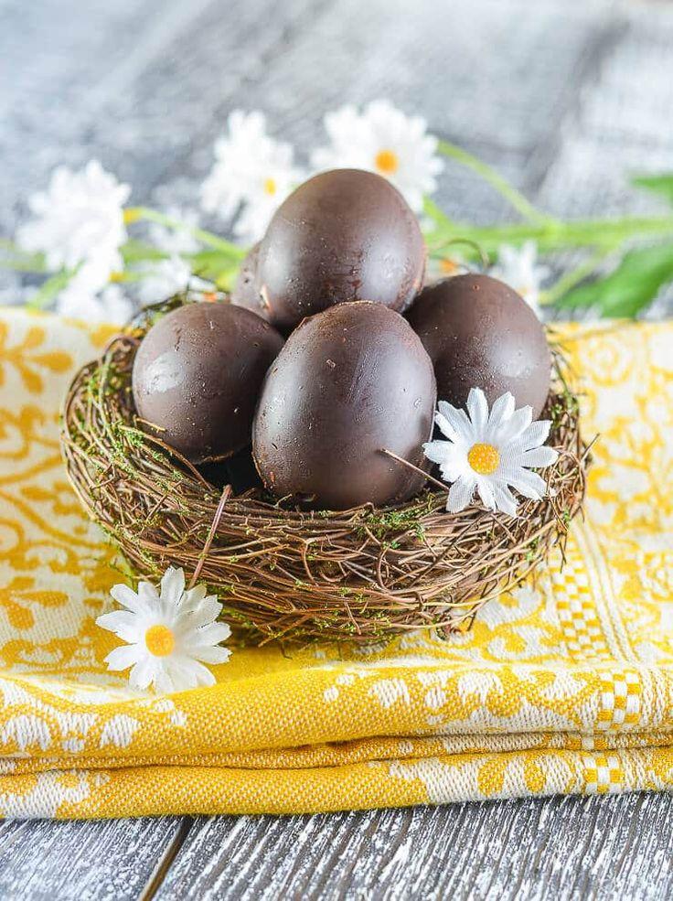 Homemade Creme Eggs (vegan) – Dan330